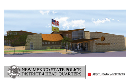 New Mexico State Police District 4 Headquarters