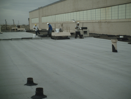 HAFB Building 824 - Roof Renovation