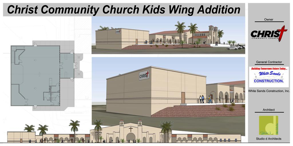 Christ Community Church - Kid's Ministry Expansion