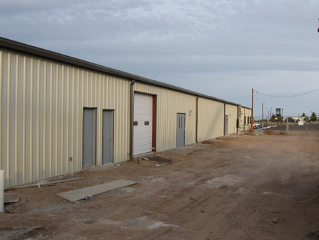 Otero County Fairgrounds New Exhibit Building