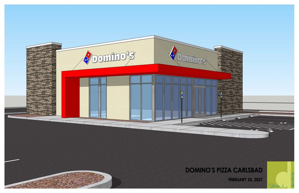 Carlsbad Shell Building for Dominos Restaurant